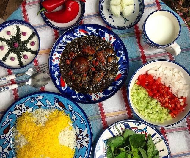 recette de Ghormeh Sabzi par Parsi, Par-là